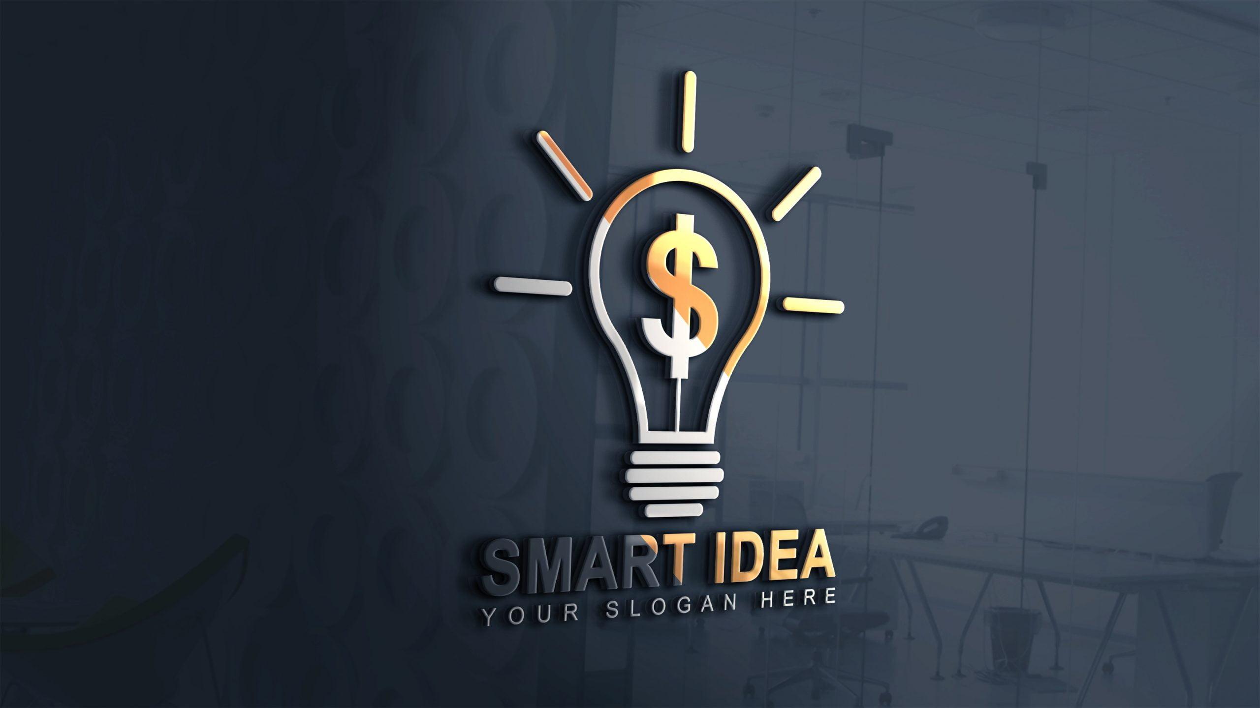 Smart Logo Jpeg 3d glass wall