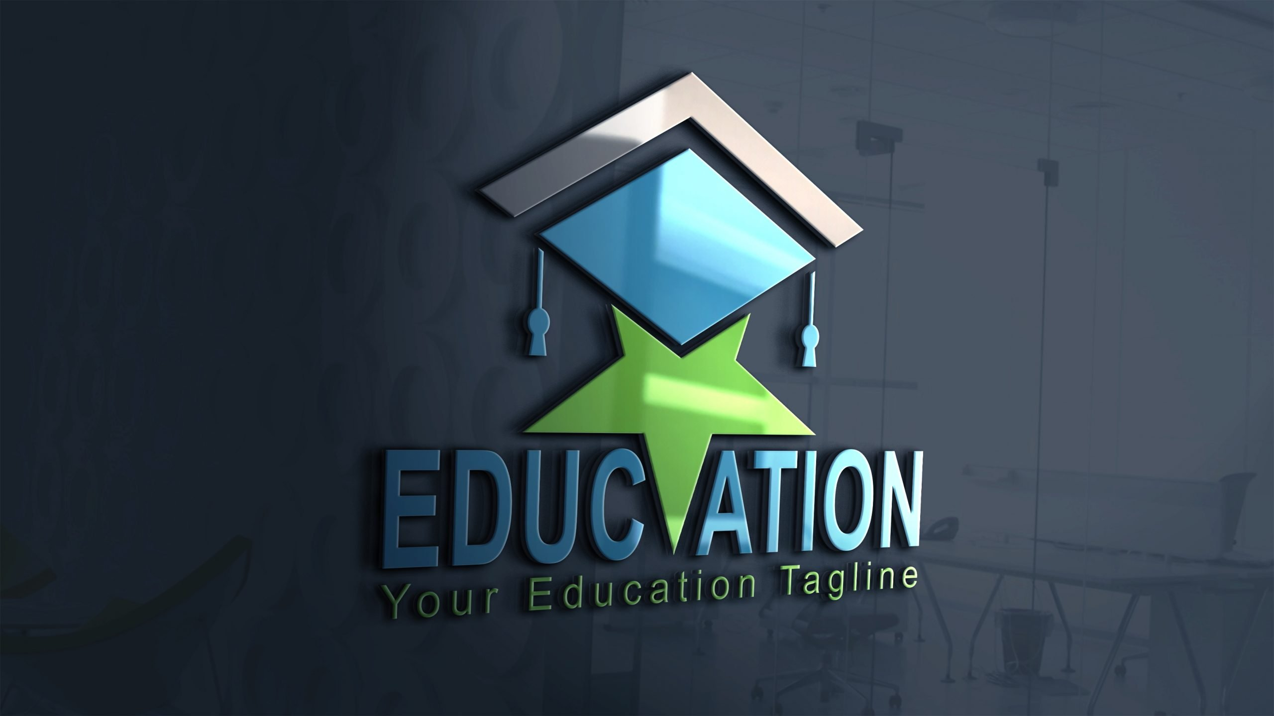 Star education logo design