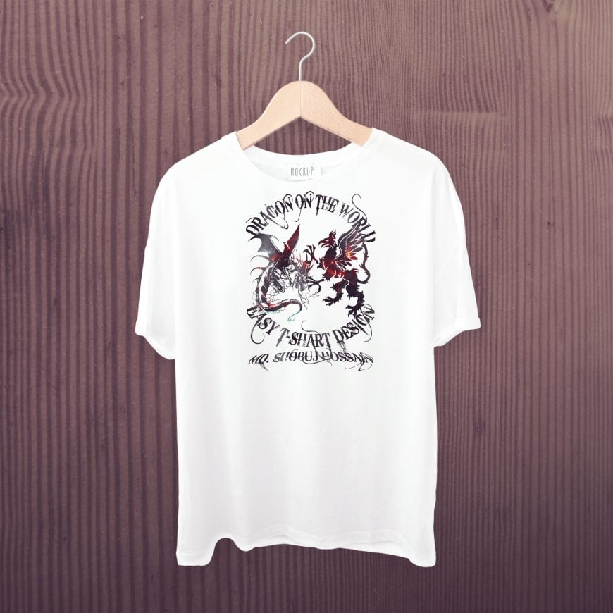 T-shirt-design-with-dragon-free-template-scaled