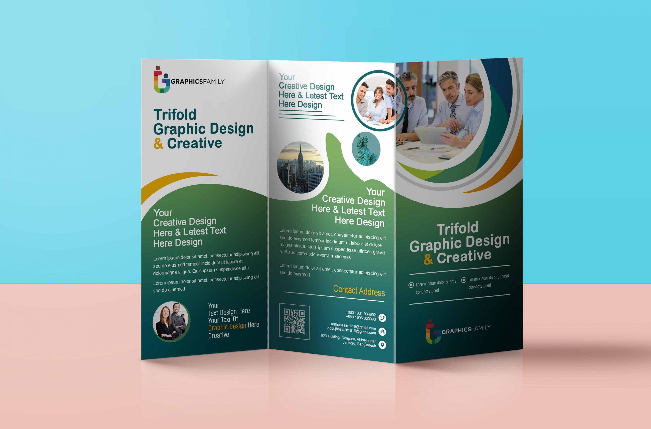 Tri Fold Brochure For Medical Purpose