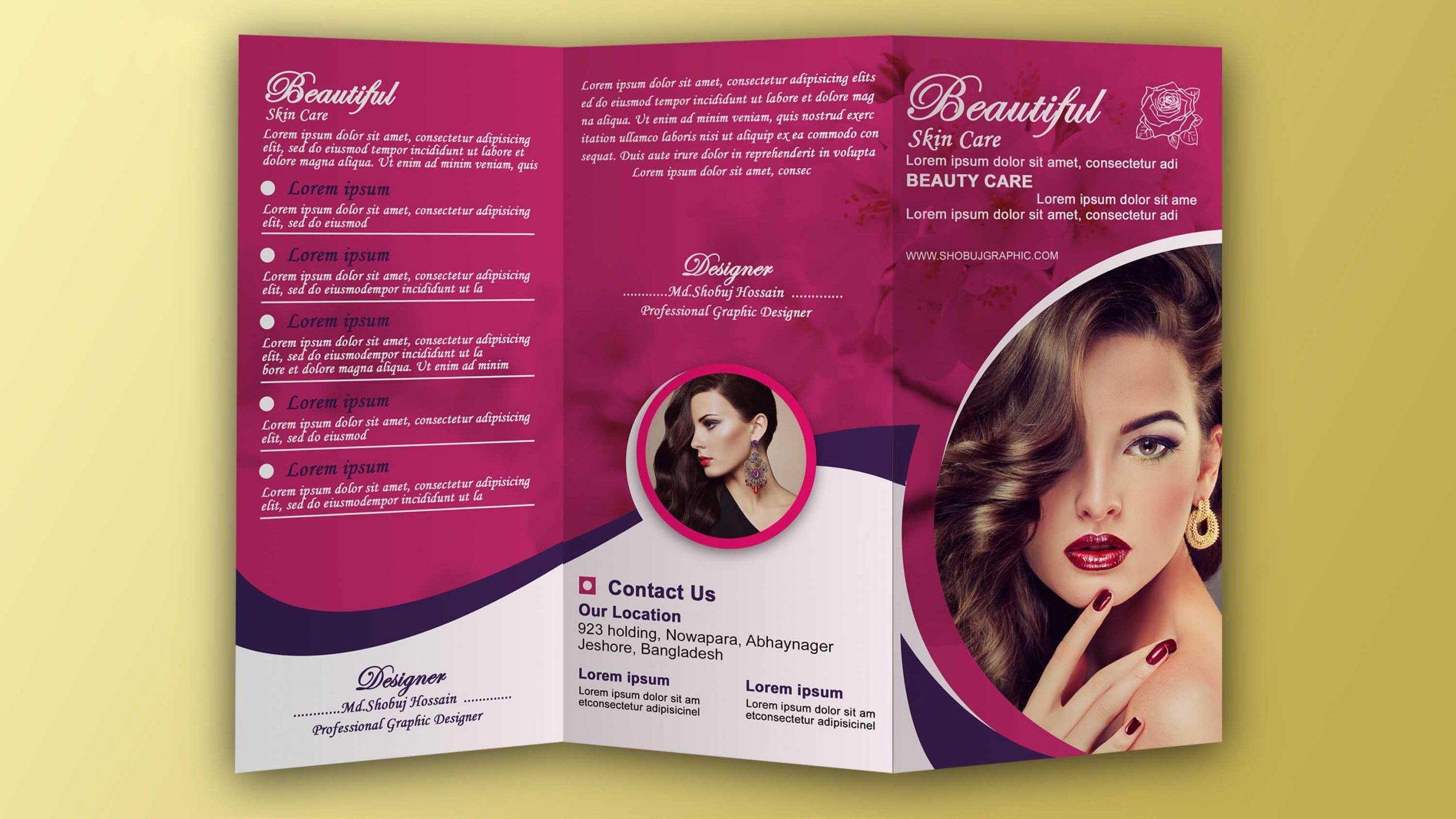 Tri fold Brochure Design Presentation
