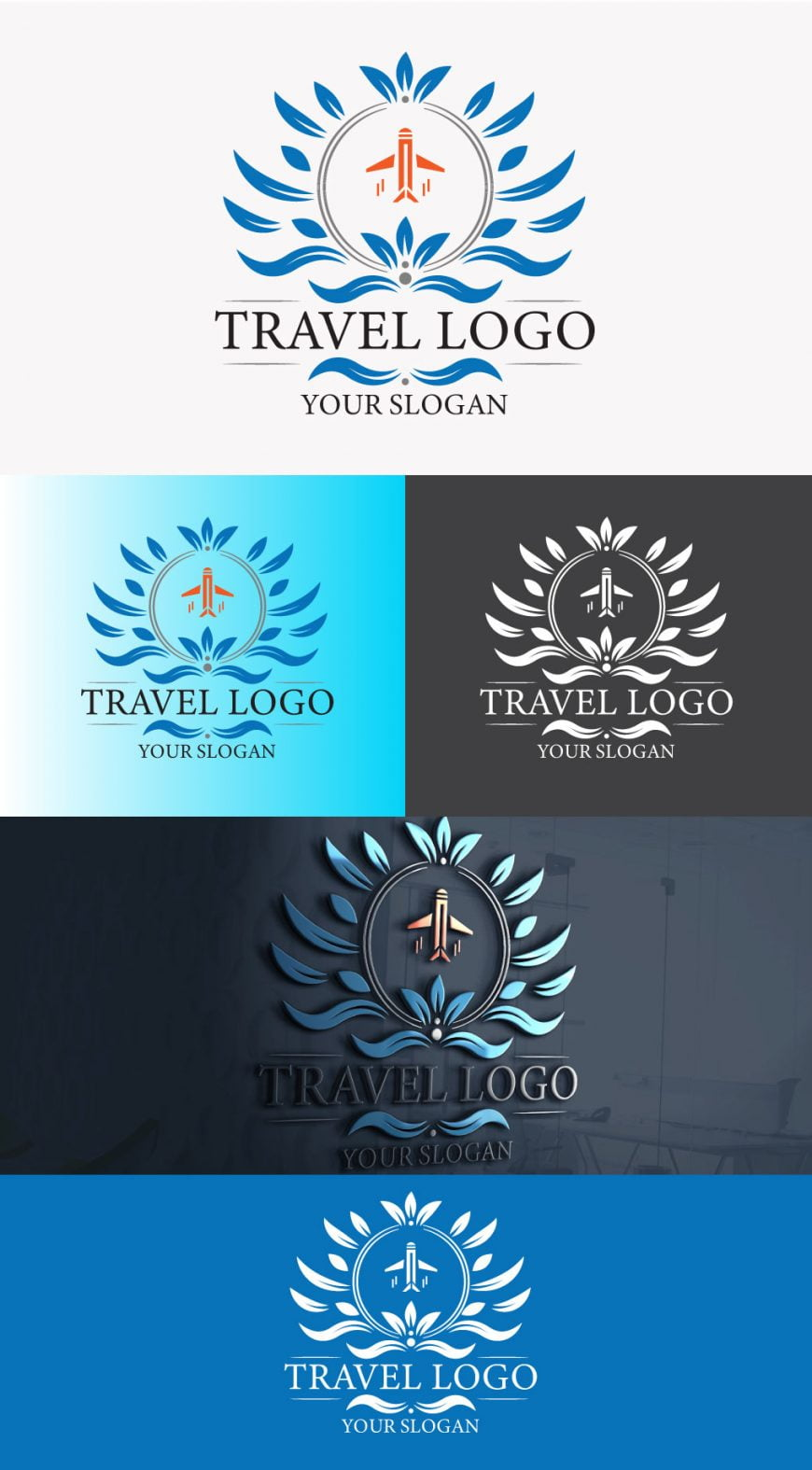 luxury-travel-logo-template