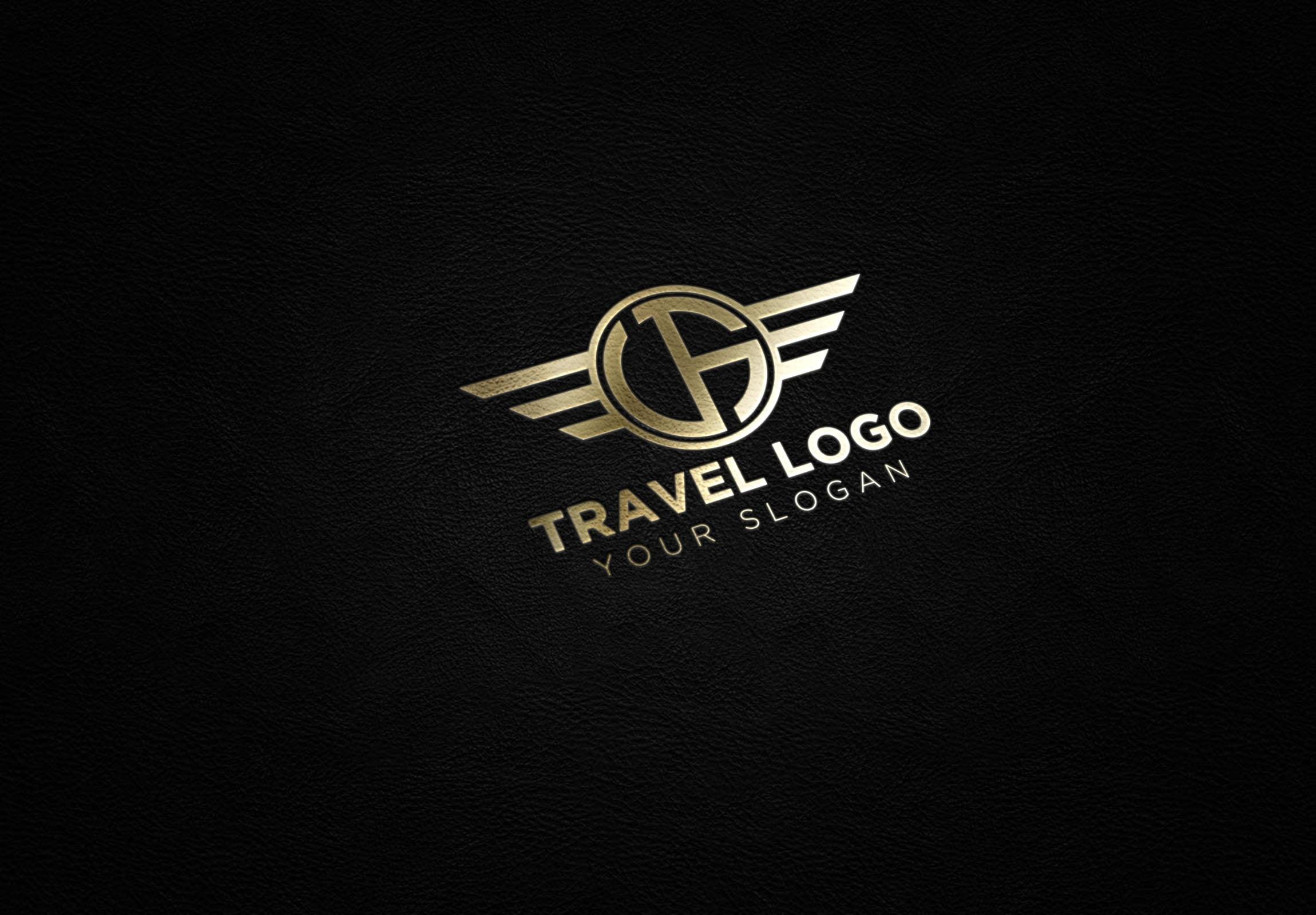 luxury traveling logo idea