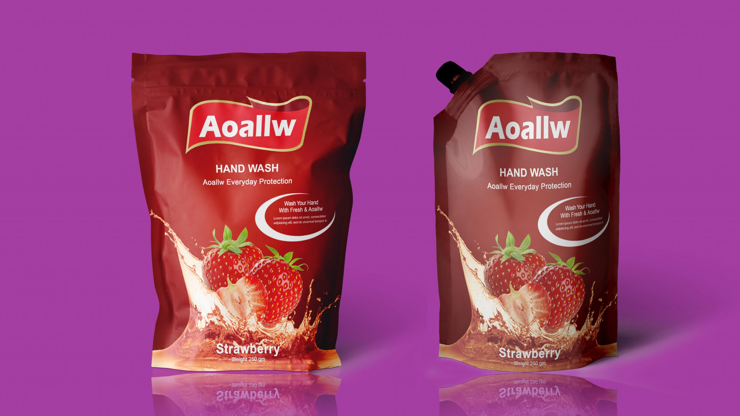 product packaging design Hand Wash Jpeg