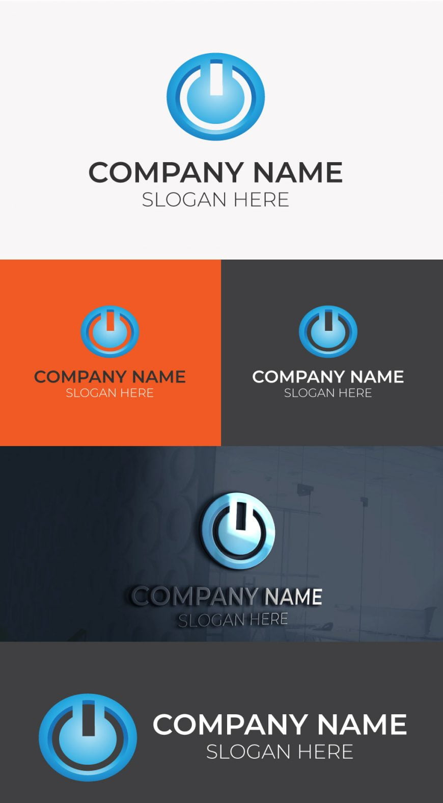 tech-logo-free-template