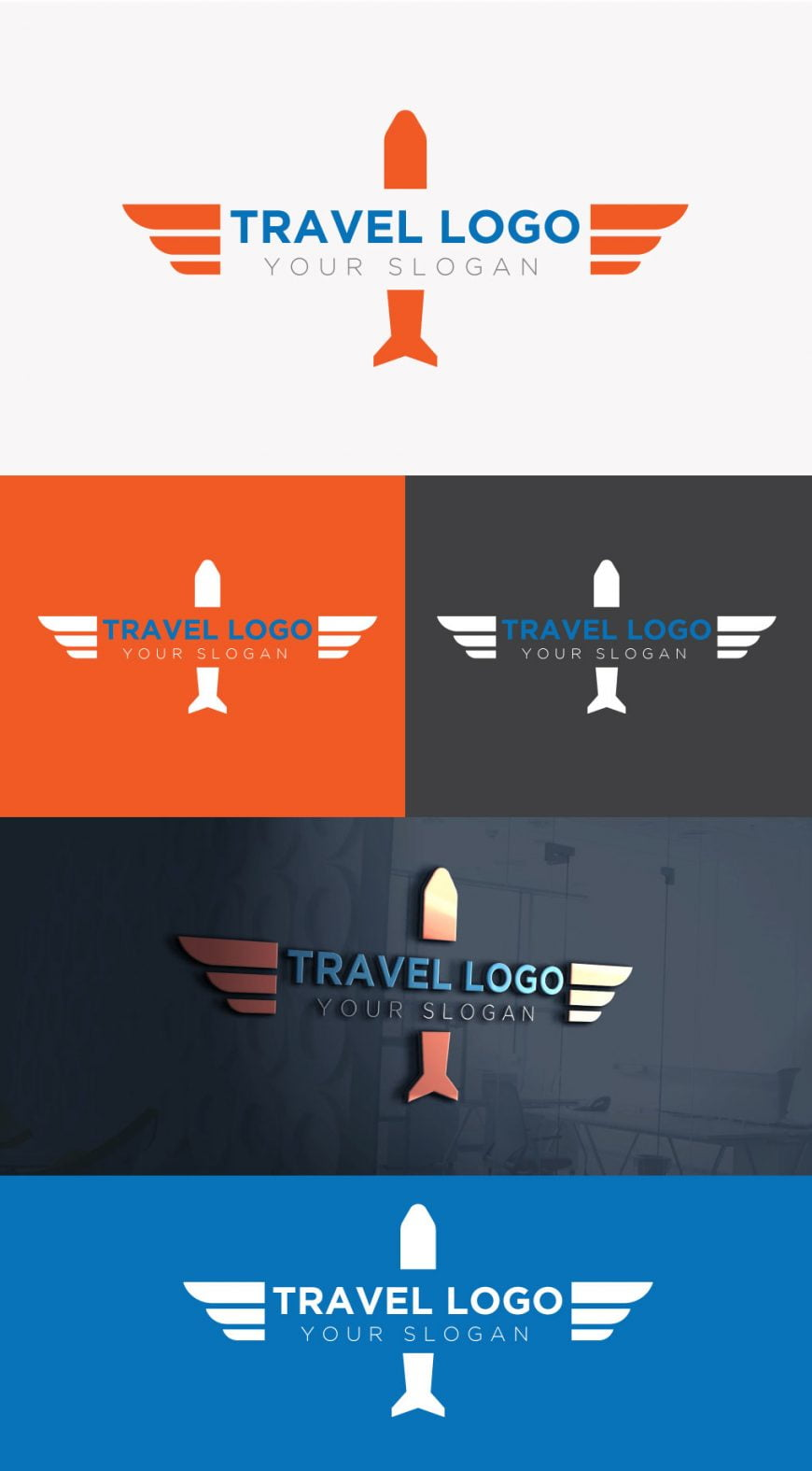 travel-logo-free-template