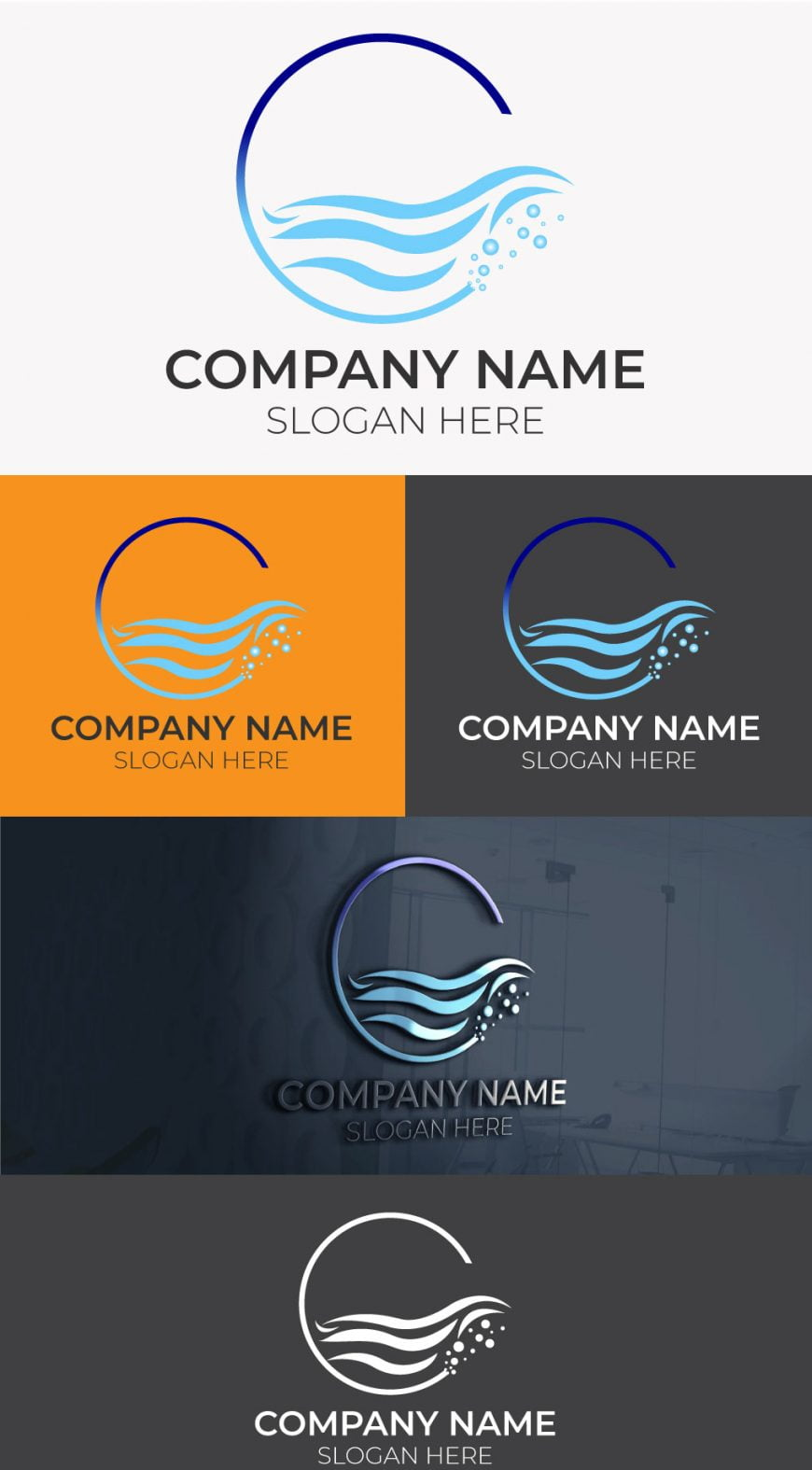 water-company-logo-template
