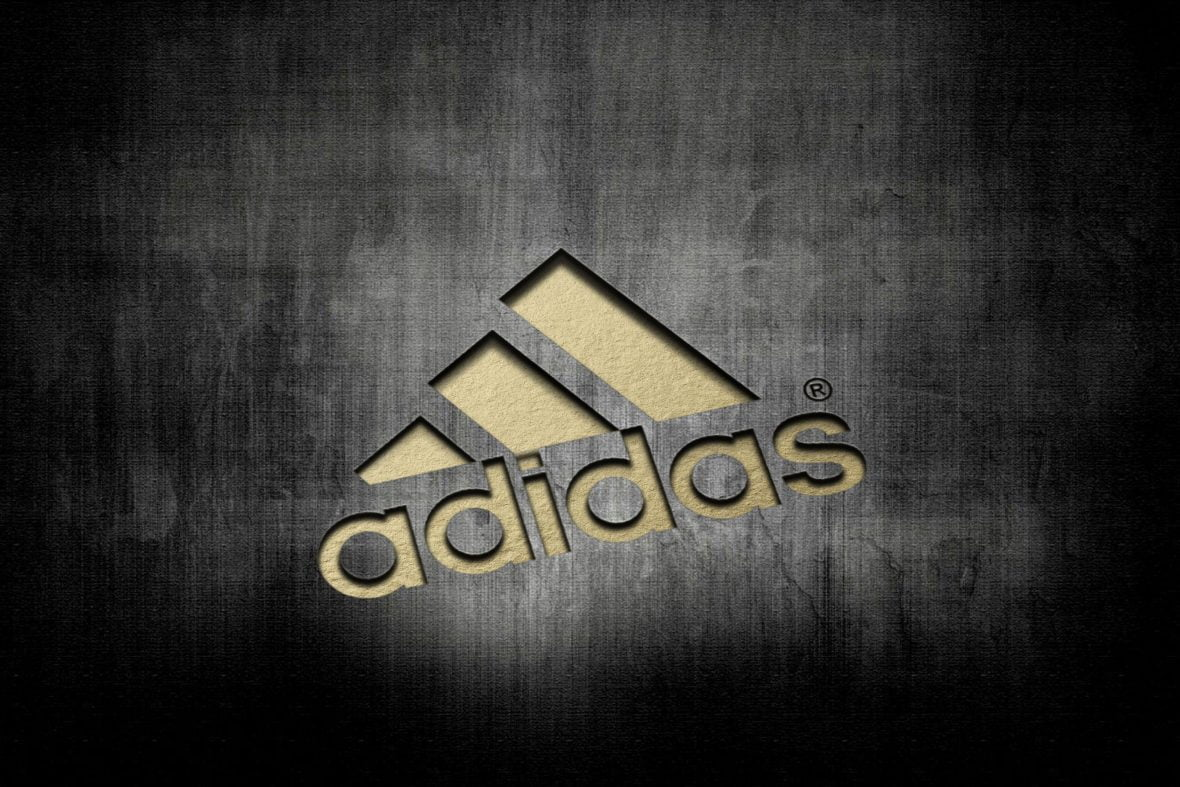 Adidas Laser Cut Logo Mockup