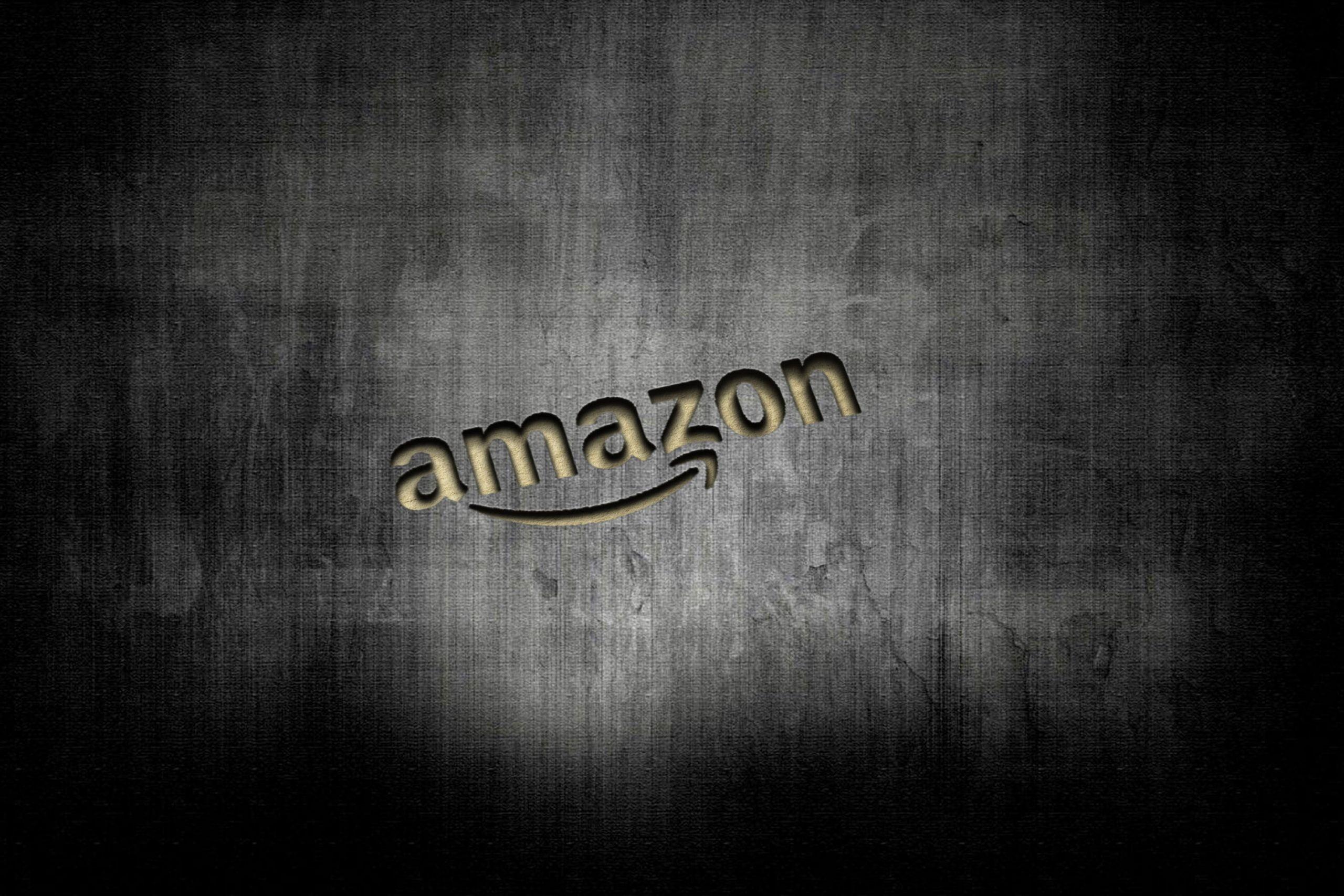 Amazon Cut Artwork Logo Mokcup