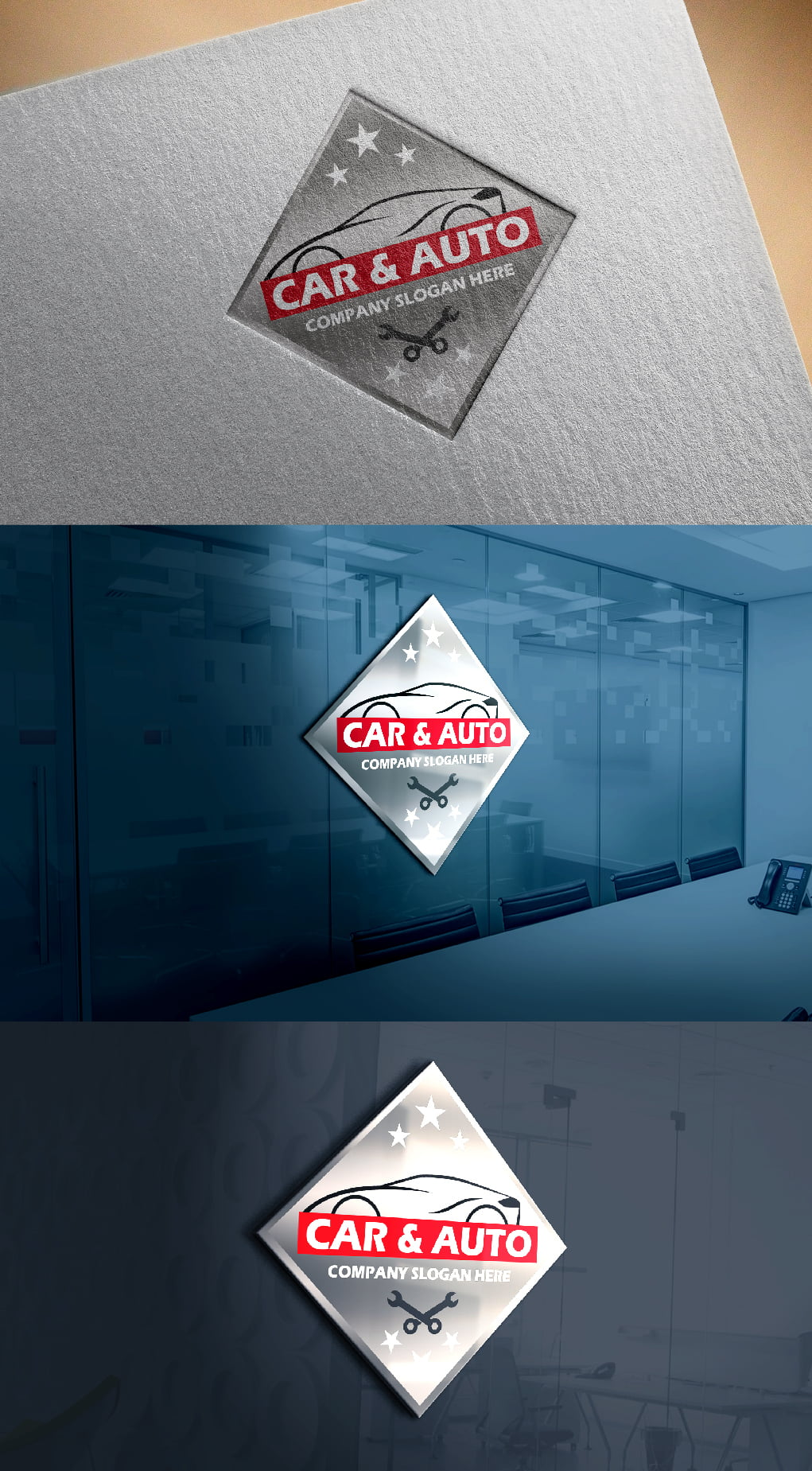 Auto Repair Car Template