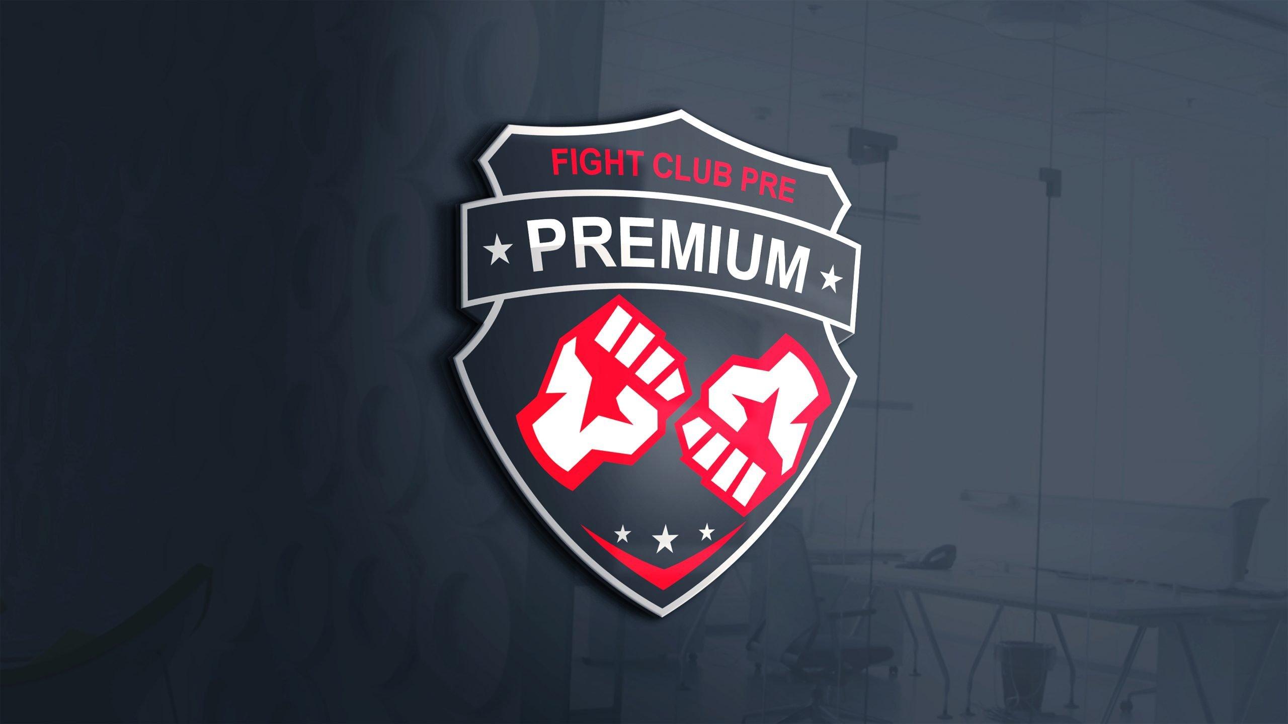 Brand New Fight Club Logo Design 3d