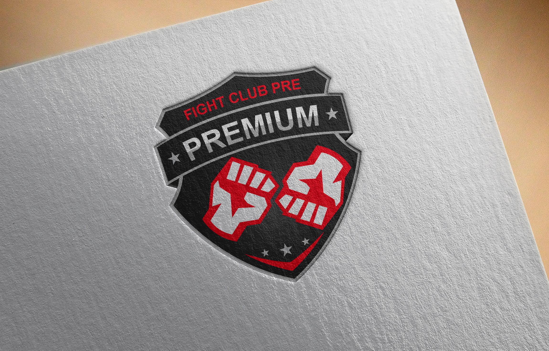 Brand New Fight Club Logo Design