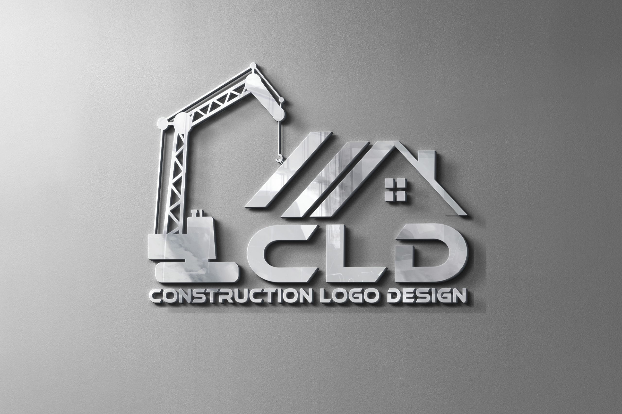 Construction Logo Design Free psd