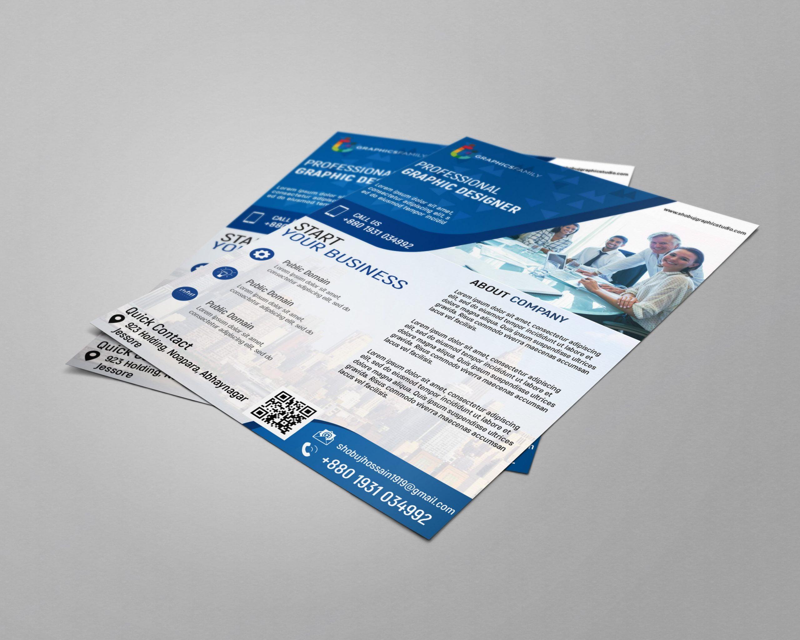 Corporate Flyer Design psd Free