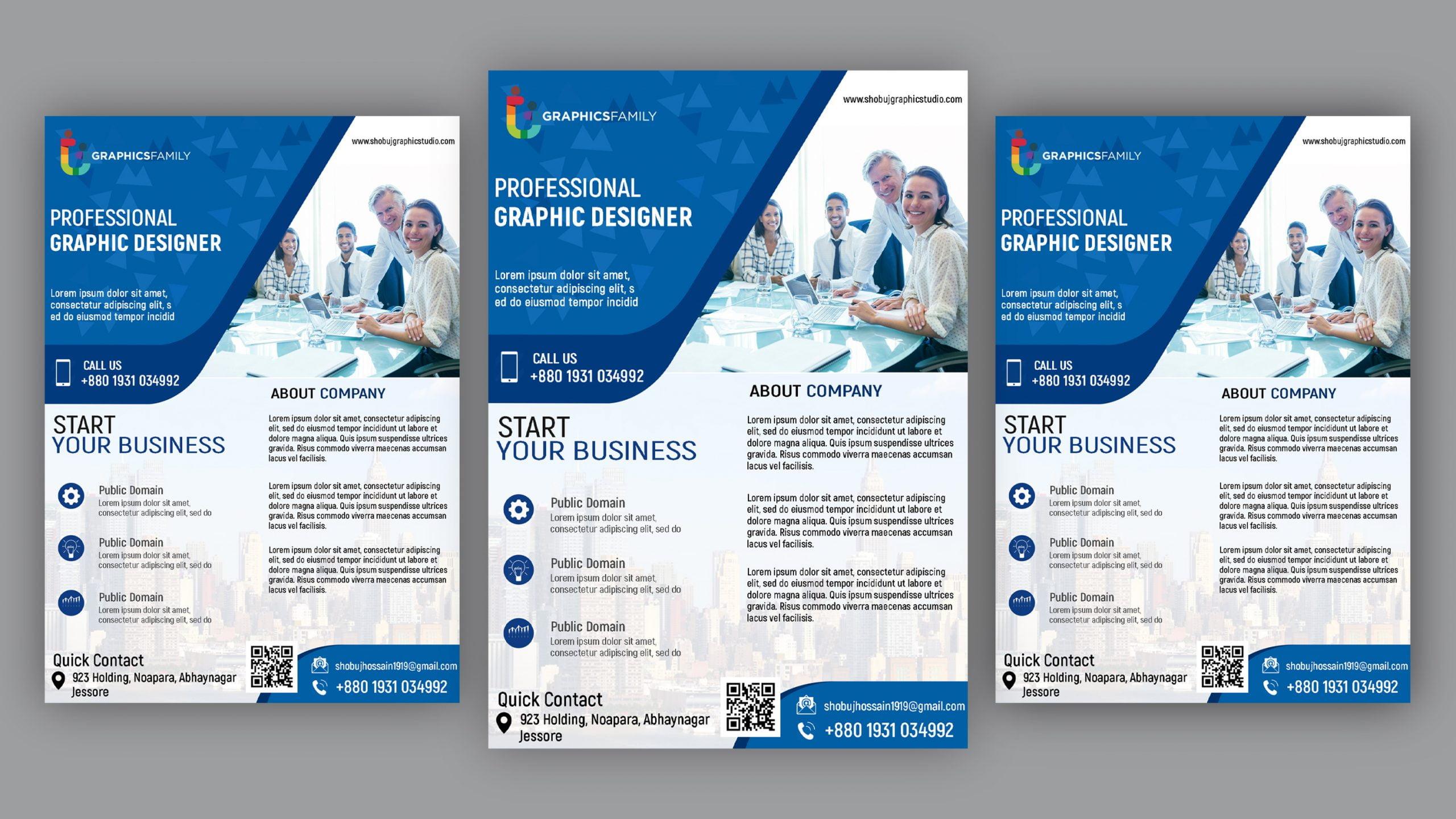 Corporate Flyer Design psd