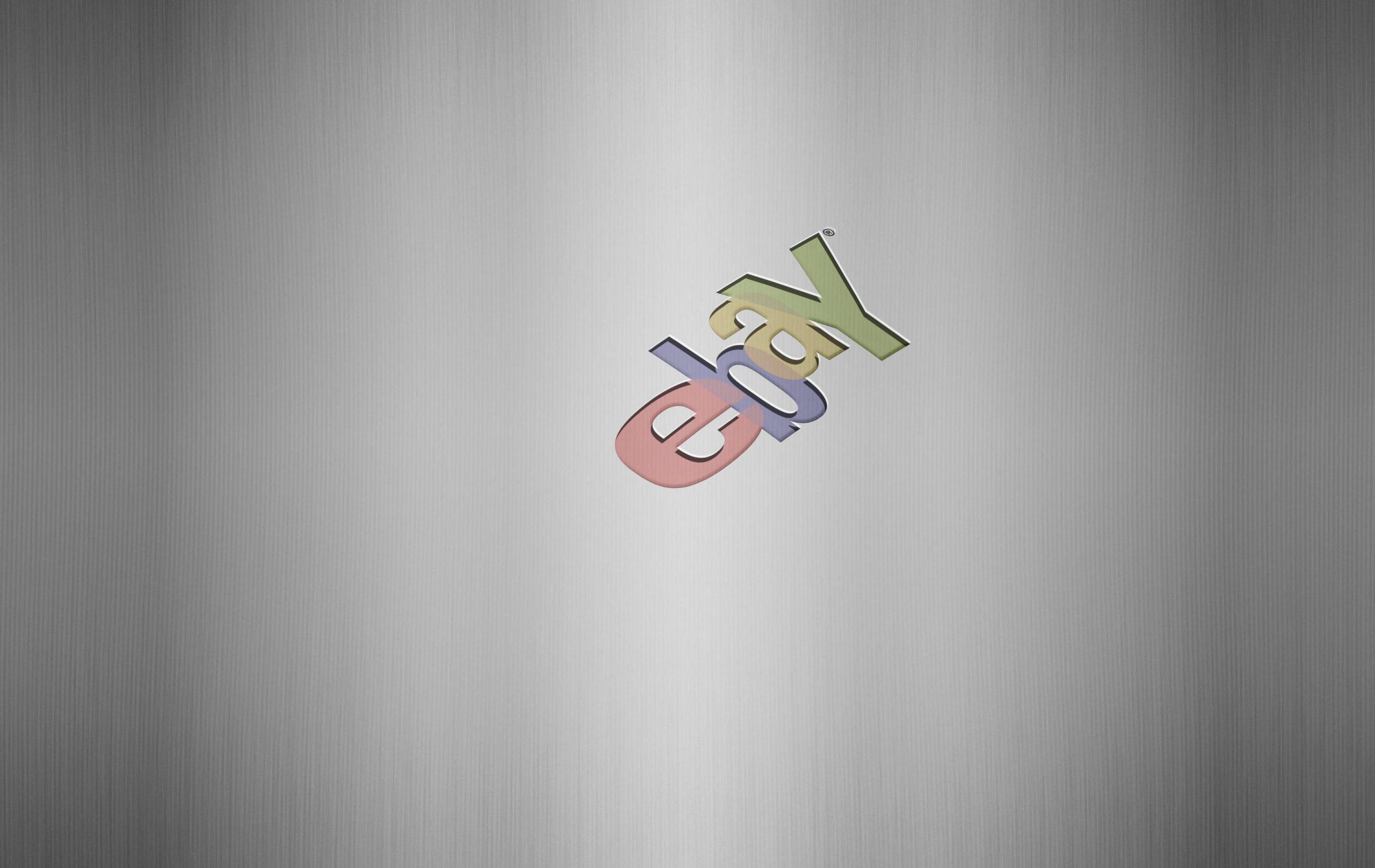 Ebay Logo Free Steel Logo Mockup
