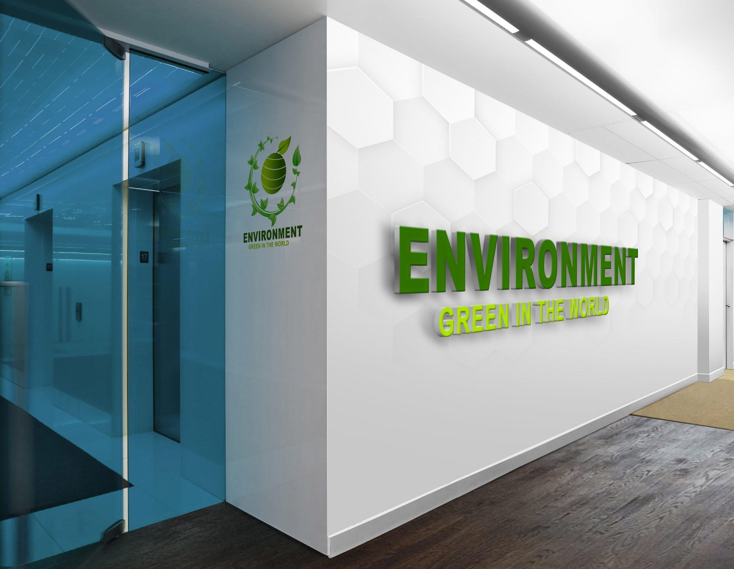 Environment logo presentation