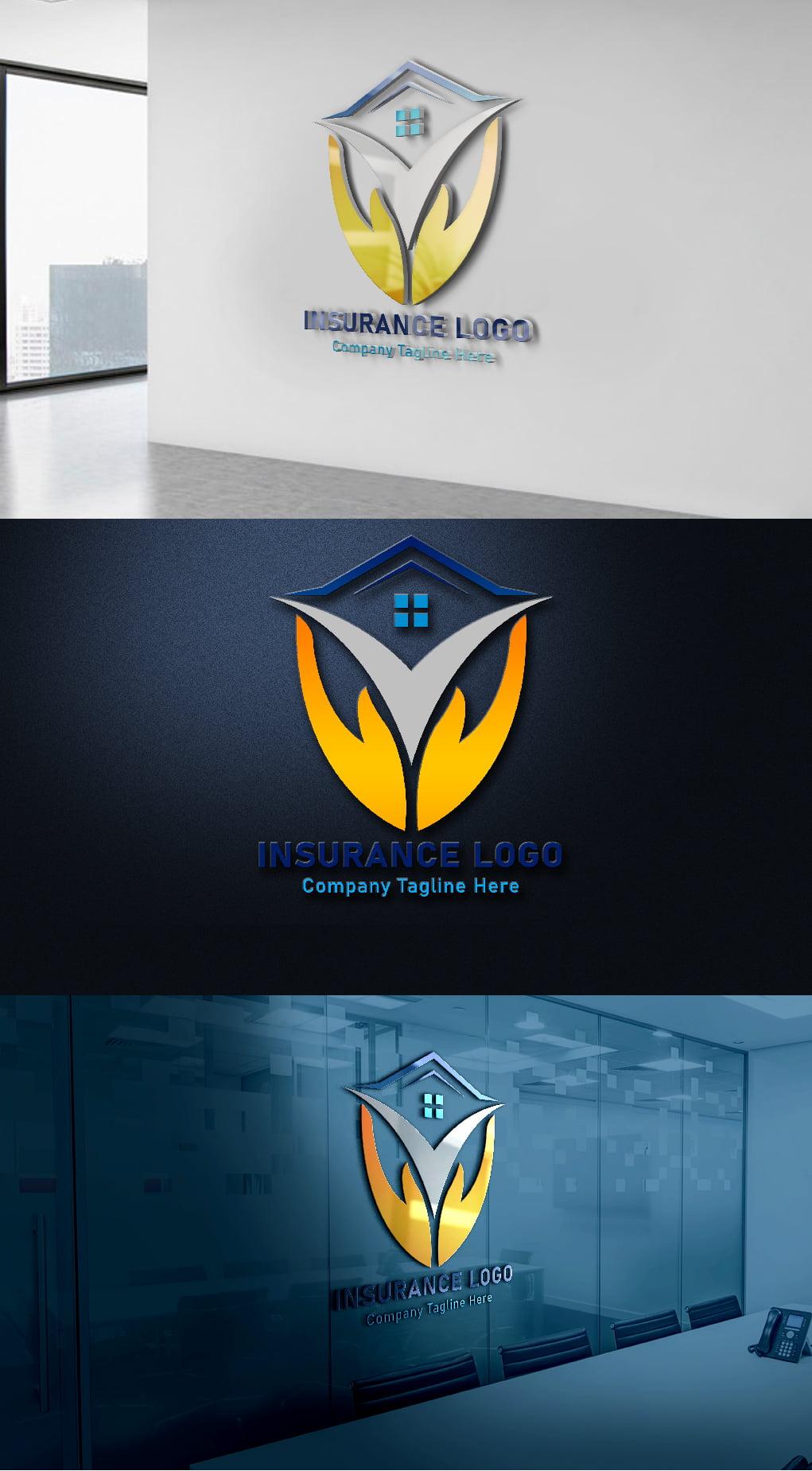 Finance & Insurance Logo Template