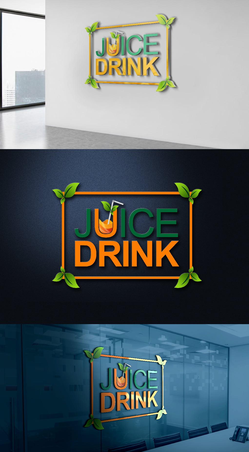 Free Juice Logo Template