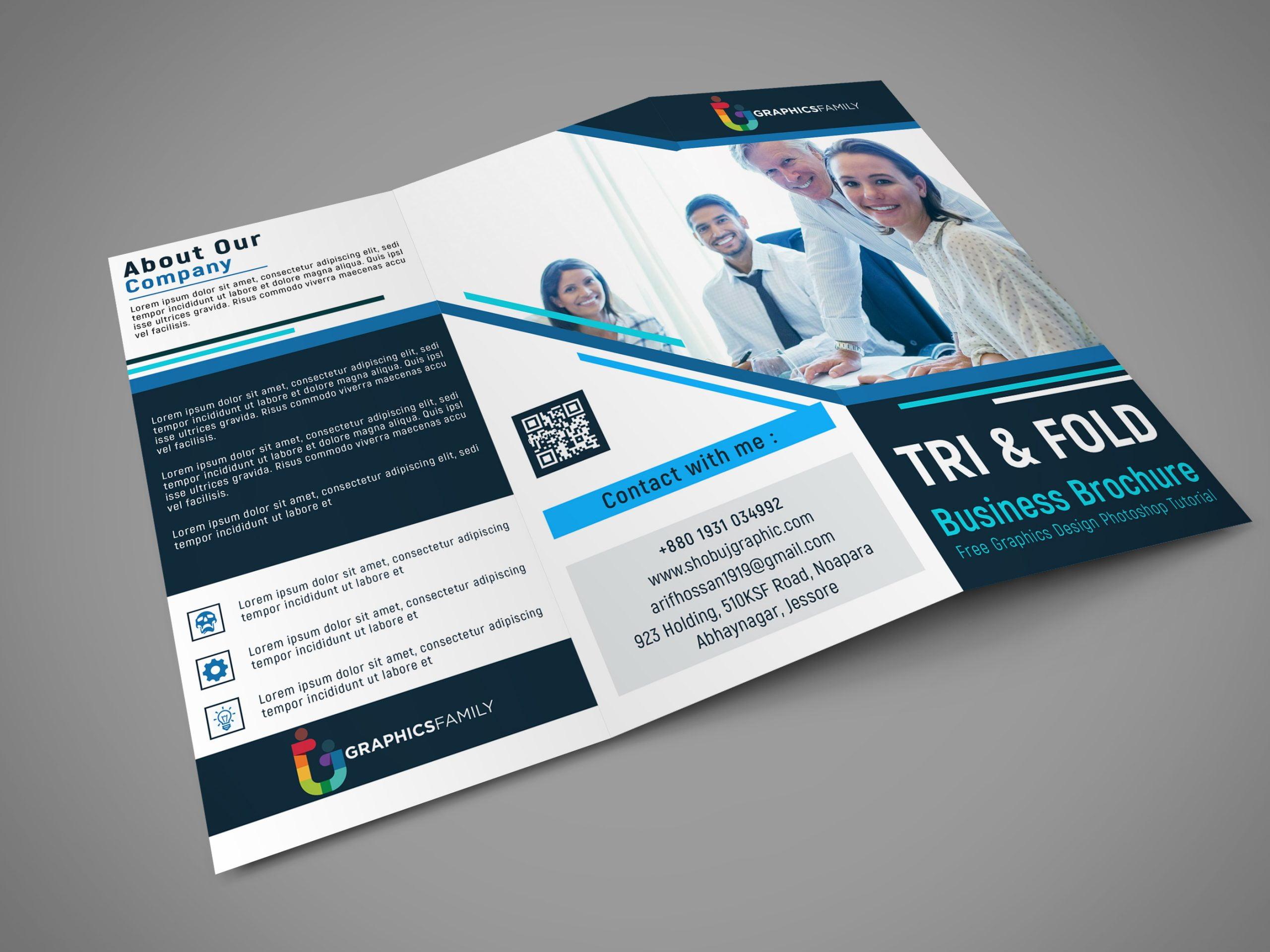 Free online specialist tri fold brochure template Download