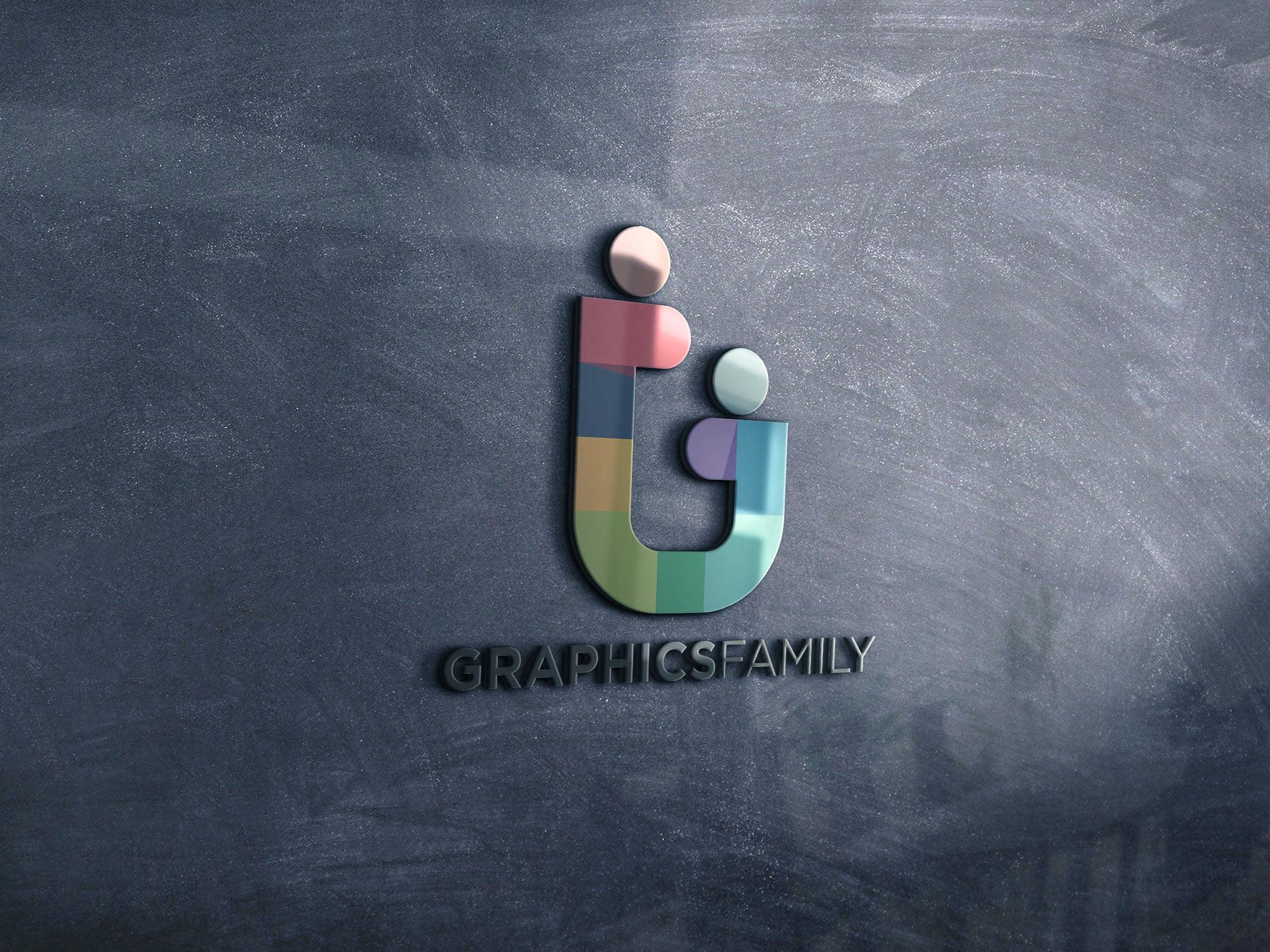 Graphicsfamily Glass mockup