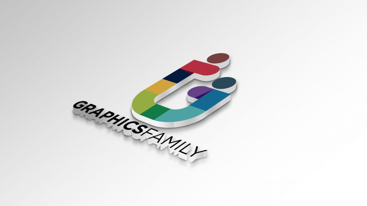 Graphicsfamily-logo-on-white-paper