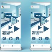 Free Roll up Banner Design For Home Decoration