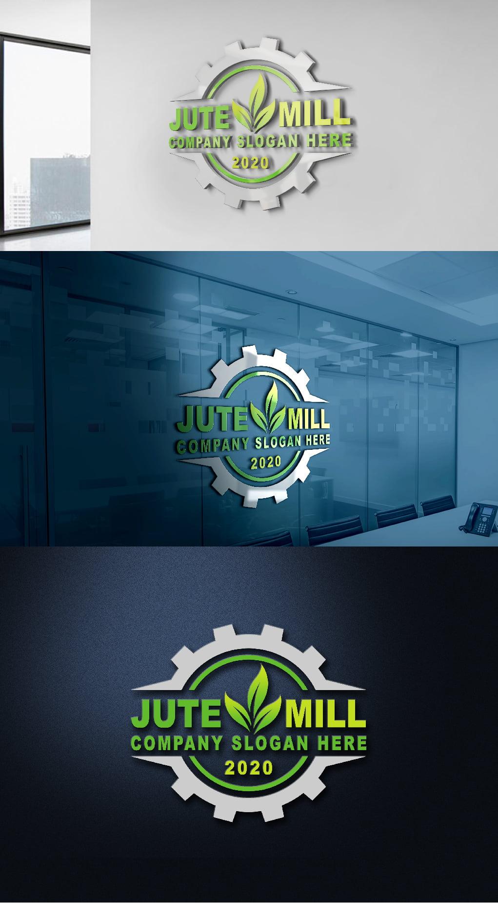 Jute Company Logo Template