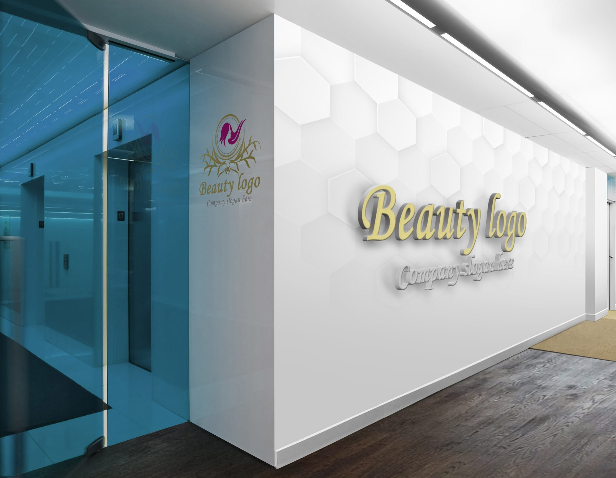 Luxury Beauty Logo Design Free psd