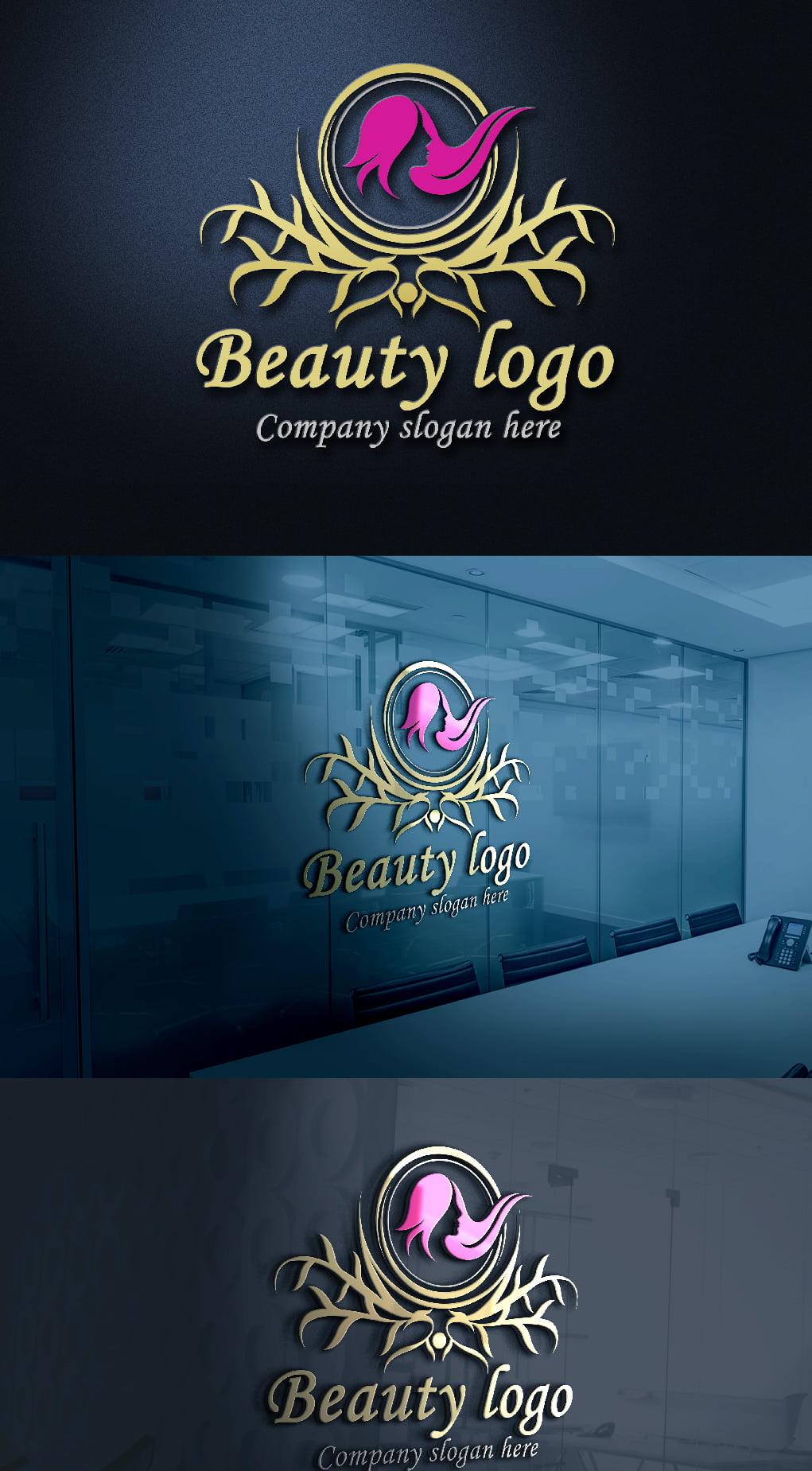 Luxury Beauty Logo Design Template
