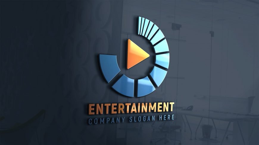 Media-entertainment-logo-free-photoshop-design-scaled
