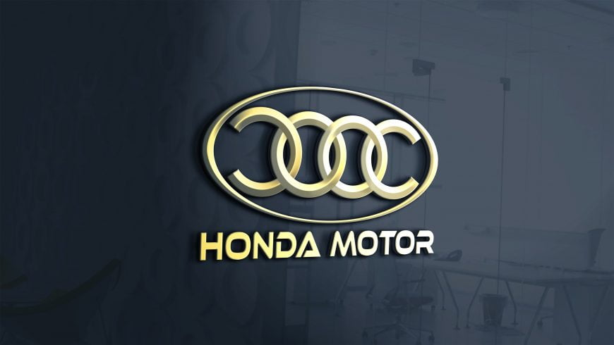 Motor-car-logo-on-3d-glass-window-scaled