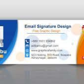 Free Photoshop Professional Email Signature Design