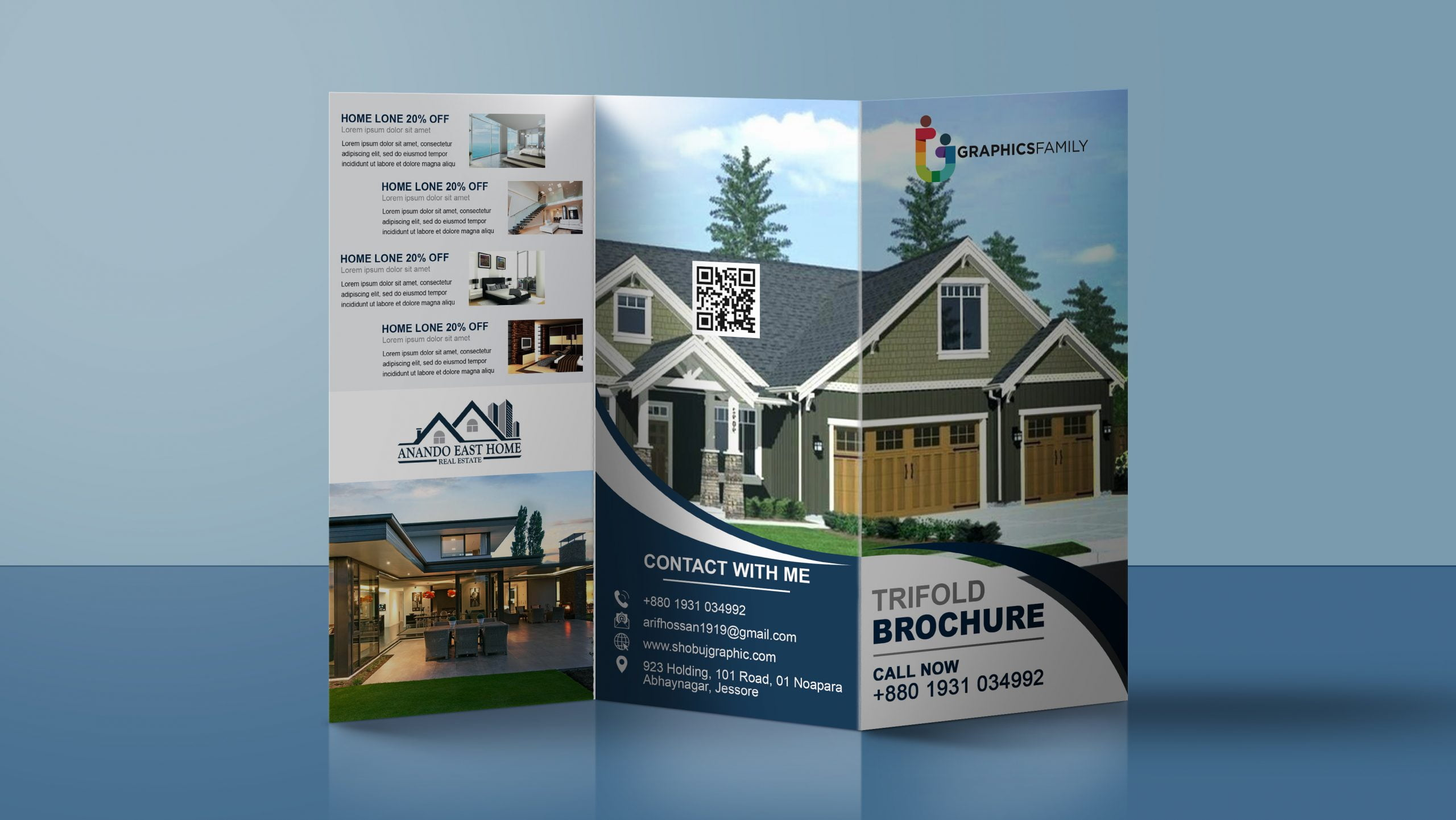 Real Estate Tri Fold Brochure In Photoshop