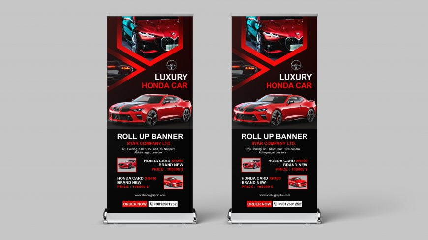 Roll-up-banner-template-For-Luxury-car-showroom-scaled