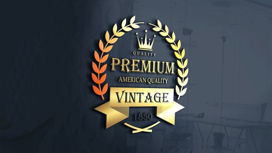 Vintage-Logo-On-3d-Glass-window-scaled