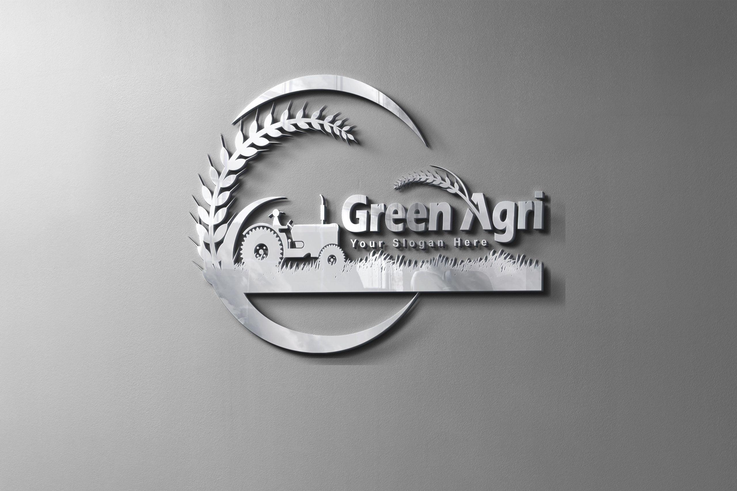 agriculture logo design Free psd
