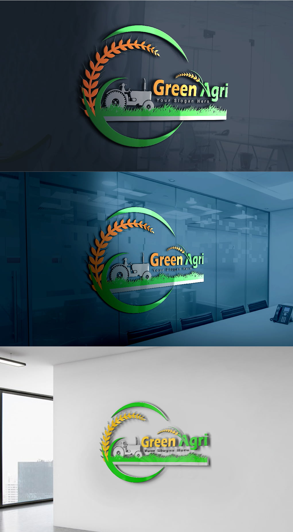 agriculture logo design free Template