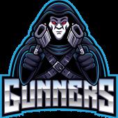 Gunner mascot logo