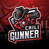 Chili Gunner Mascot Logo