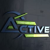 Professional Company Logo Design Free psd Template