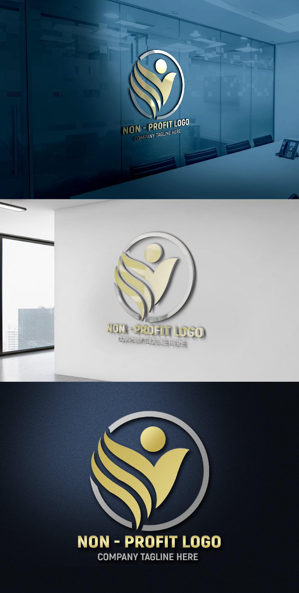 Non-Profit Company Logo Template