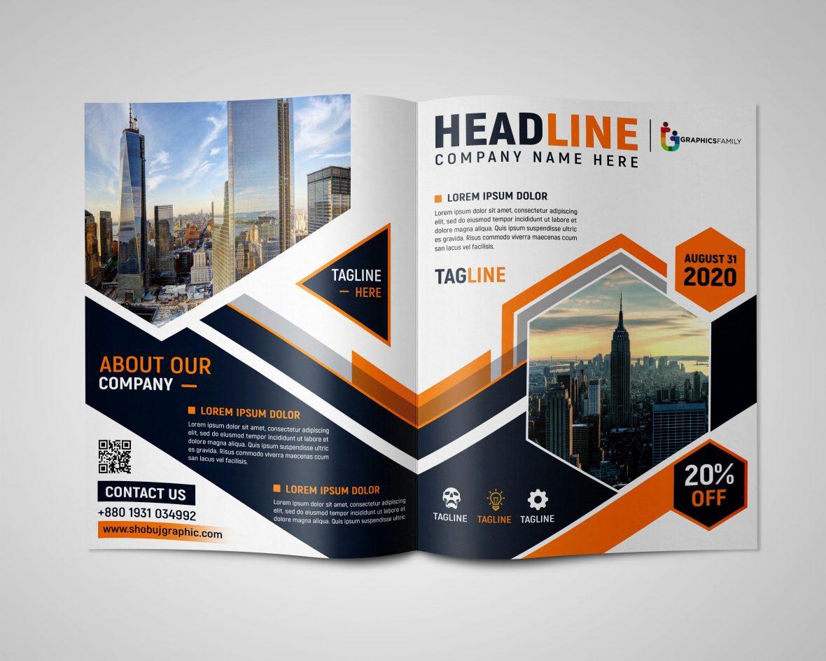 Professional-Bi-fold-Brochure-Design-Free-psd-scaled