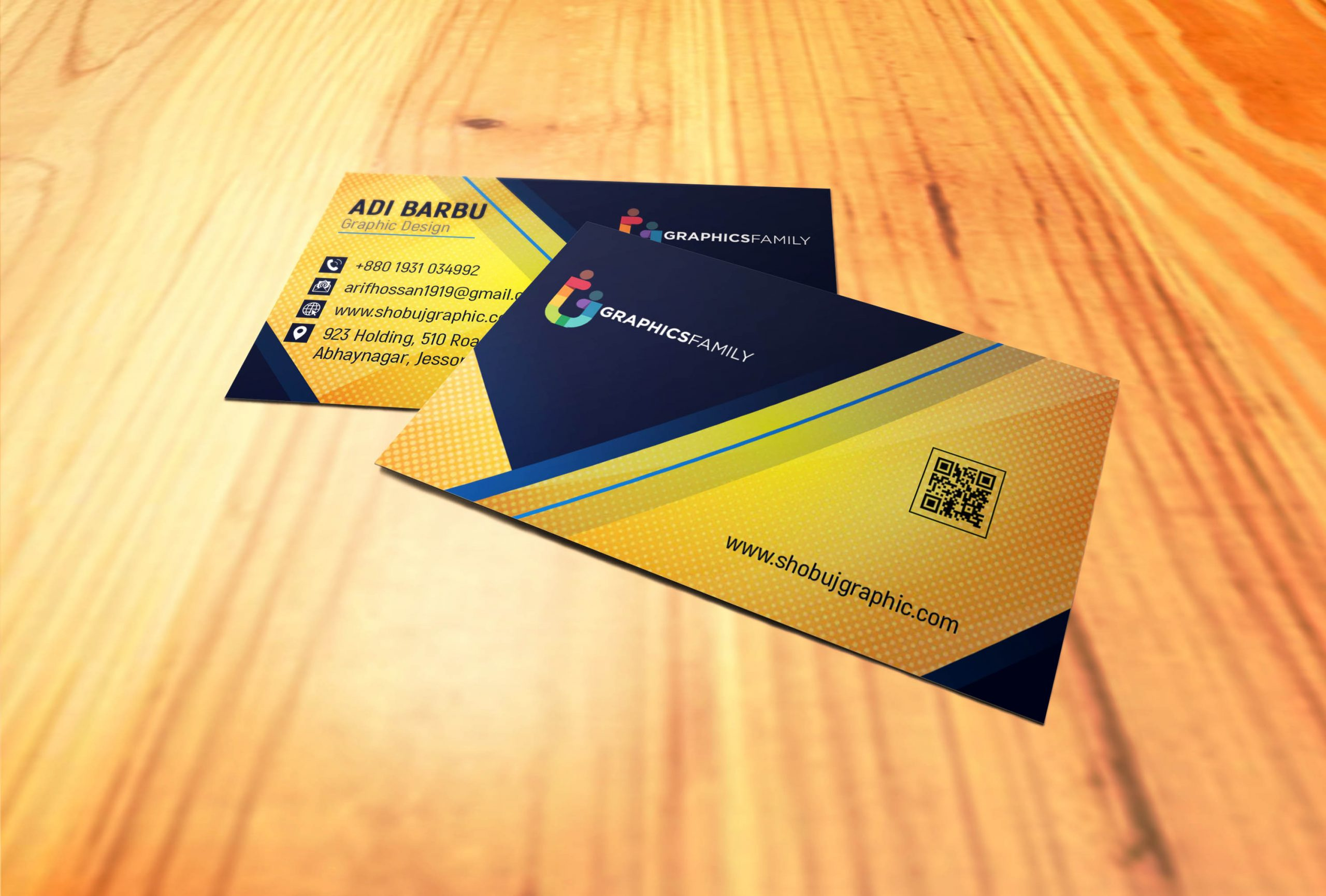 Professional & Modern Business Card Design Free Download