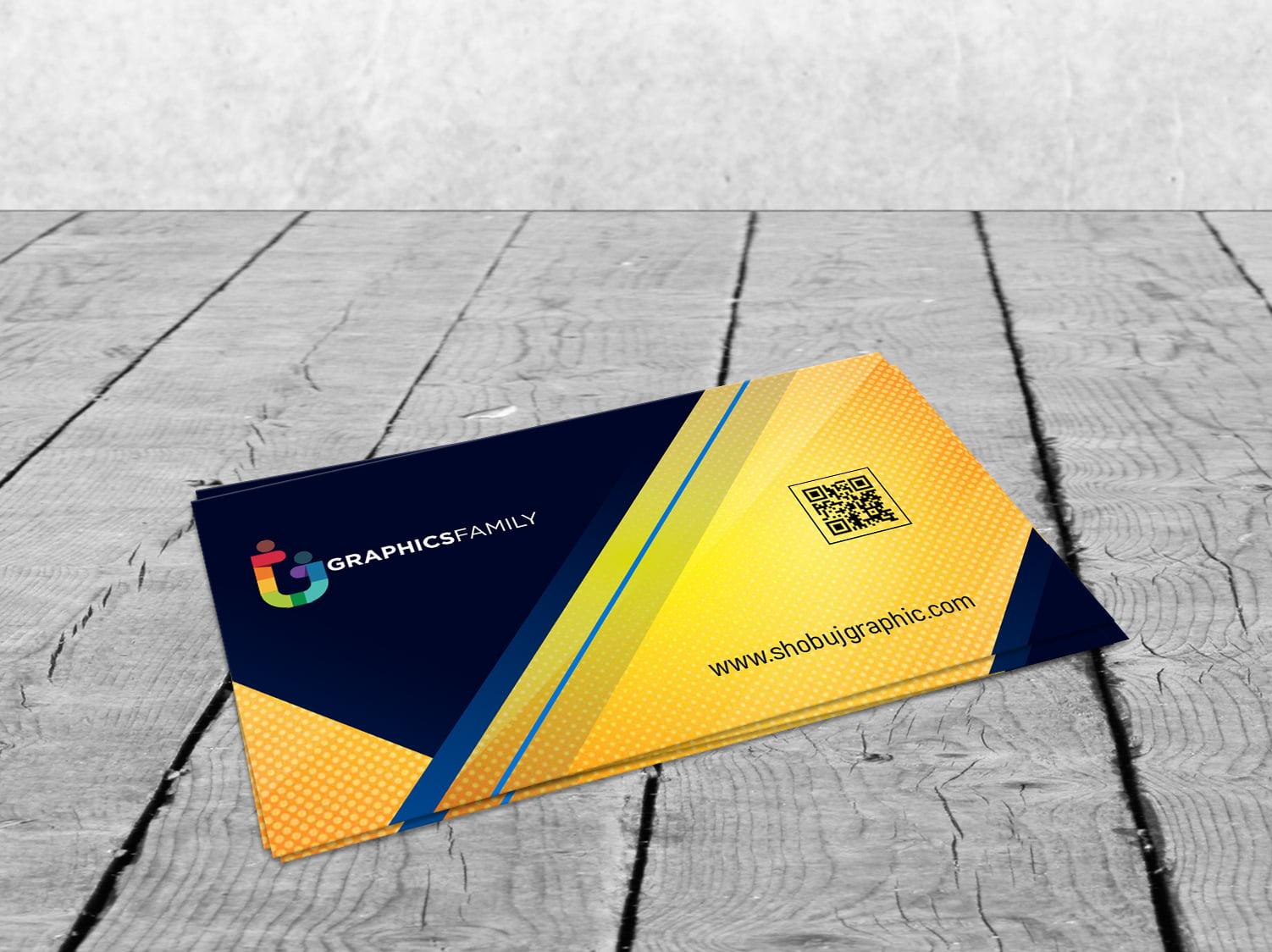 Professional & Modern Business Card Design Template