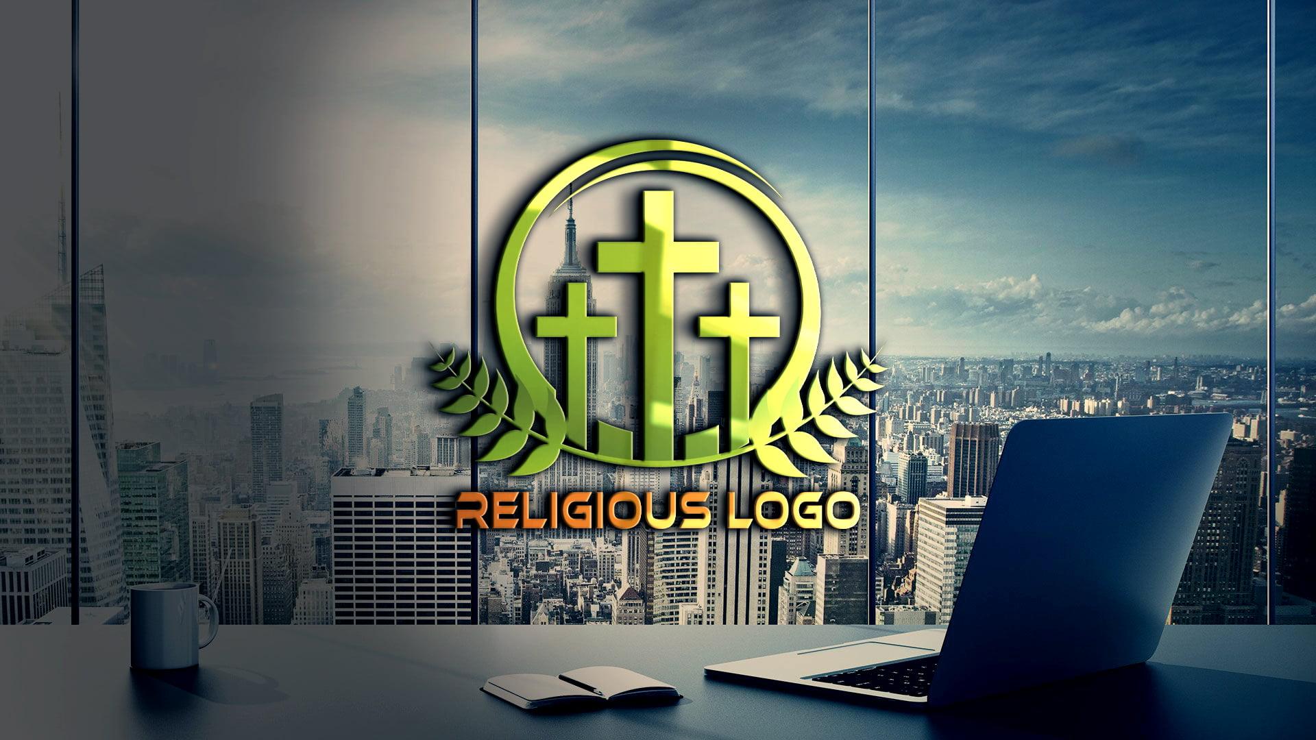 Religious and Spirituality Logo Template Free
