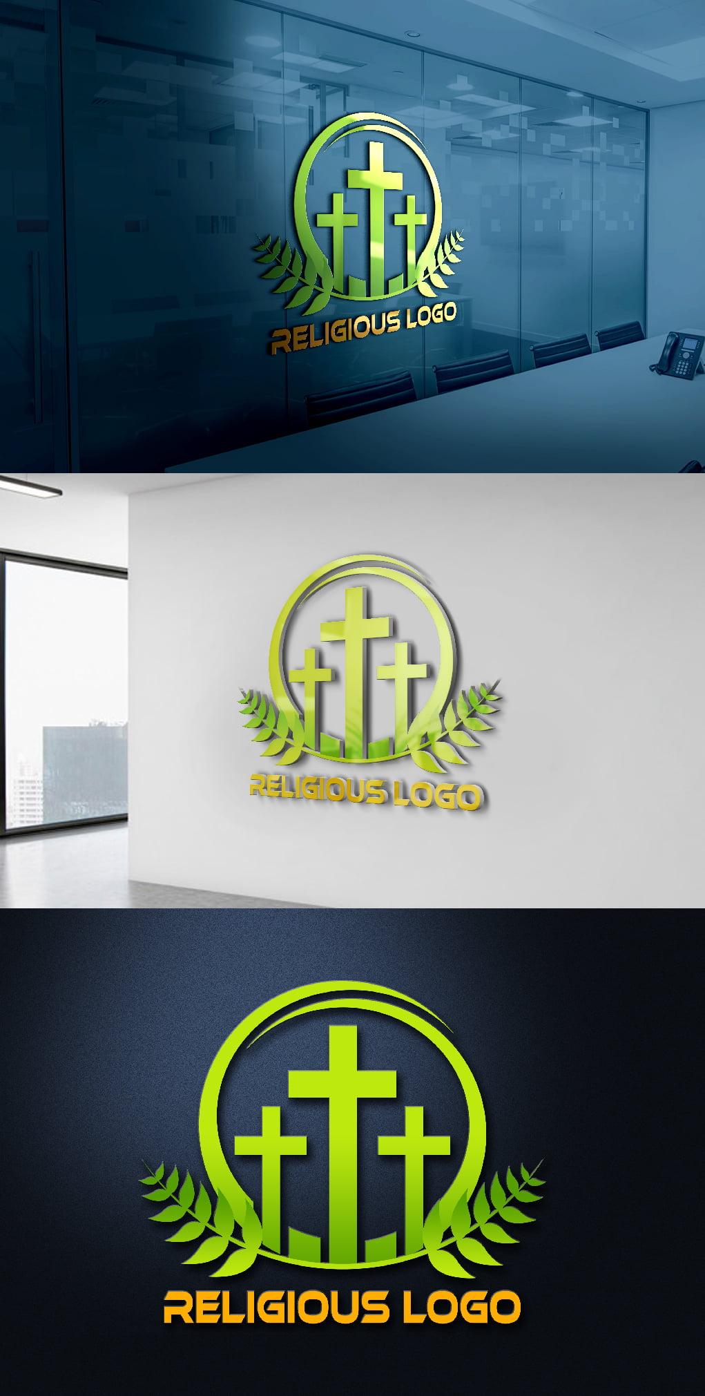 Religious and Spirituality Logo Template Preseantation