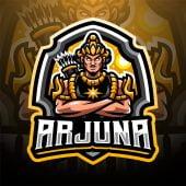 Arjuna Esport Mascot Logo