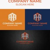 AAA Letter Monogram Free AI Template