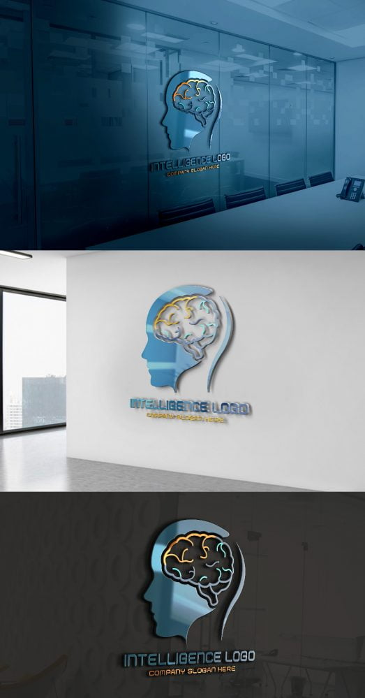 Artificial-intelligence-Logo-Free-Template